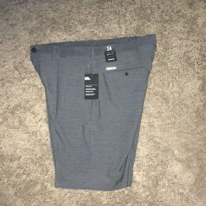 NWT gray Hurley with Nike dri fit golf shorts